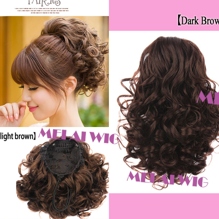 New Arrive Fashion Short Clip on hair Curly
