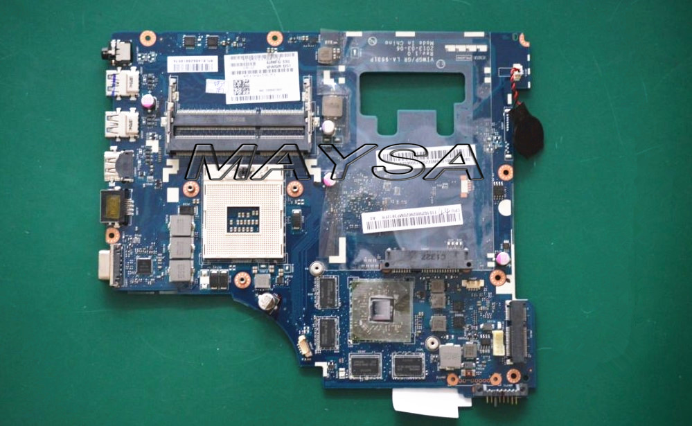 High Quality Laptop motherboard Fit For Lenovo G500 VIWGP/GR LA-9631P REV:1.0 Mainboard With 8 video memories , 100% working brand new pbl80 la 7441p rev 2 0 mainboard for asus k93sv x93sv x93s laptop motherboard with nvidia gt540m n12p gs a1 video card