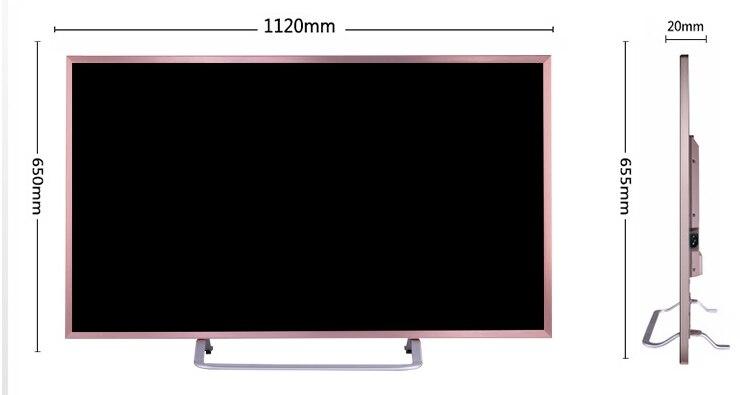 Nouveau 4k mode promotionnel 40 50 60 70 80 90 pouces led tv plein écran HD android TV pc intelligent en option moniteur d'affichage - 3