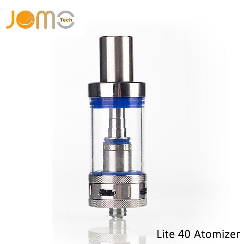 JOMOTECH Pyrex Verre 4 ml Reconstructible Vaporisateur 0.5ohm 510 Fil Atomiseur pour Tous Les Lite 40 Réservoir Cigarette Électronique Kit Jomo-72