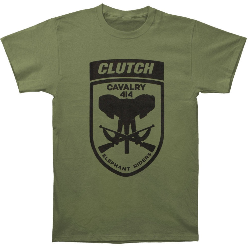 2018 New Summer Men Hot Sale Fashion Clutch Mens Elephant Riders Olive T-shirt Size S To 3XLFashion Tshirt Hipster Cool Tops