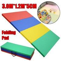 3M*1.2M*5CM Indoor Outdoor Camping Mat Air Mattress Pad Folding Tent Bed Sleeping Folding Pad