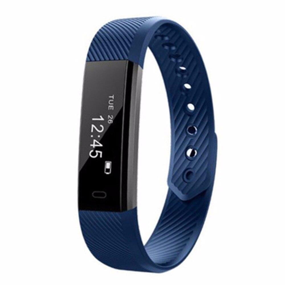 ID115 Smart Hören Rate Monitor Armband Fitness Tracker Passometer Schlaf Monitor Track Wasserdichte Sport Smart Armband