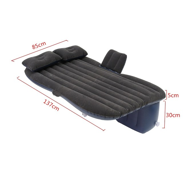 Outdoor camping Car Back Seat Cover Air Mattress Travel Mat Bed ...