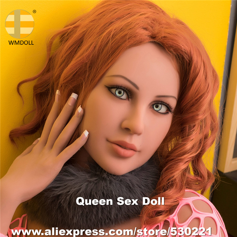 NEW WMDOLL Top Quality Realistic Sex Doll Heads For Real Adult Aoll Japanese Love Dolls Head Oral Sexy Mannequin top quality oral sex doll head for japanese realistic dolls realdoll heads adult sex toys