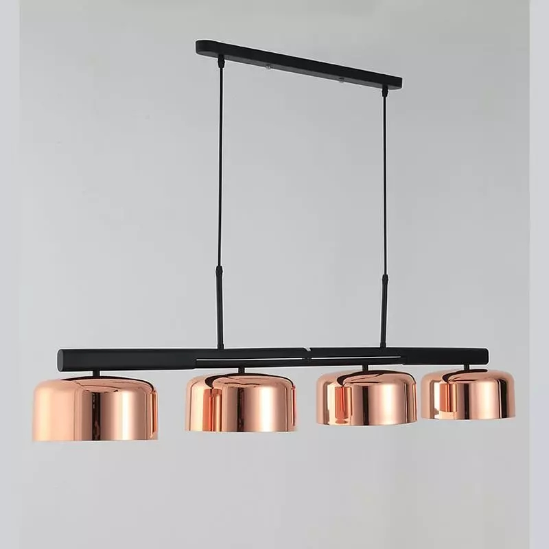 Modern Restaurant Chandelier Dining Room Lights Rotary Pendant Lamp Lamparas Lustre Kitchen Lights Hanging Industrial Led Lamp