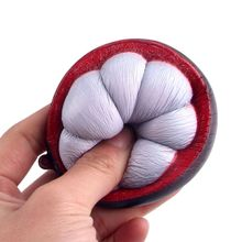Newest Toy Phone Strap Decompression Slow Rebound Mangosteen Kids Soft Squeeze Decompression Fashion Toys Easter Gift
