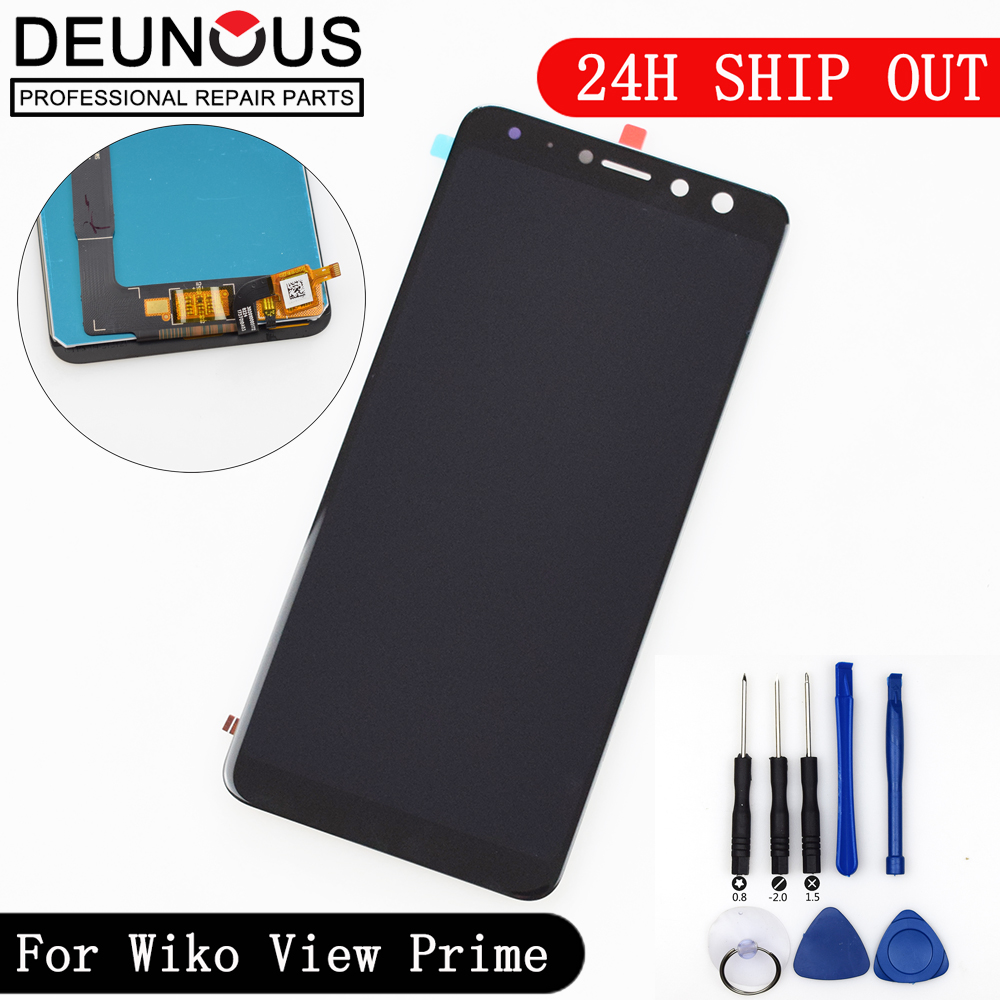 New FOR Wiko View Prime LCD Display Touch Screen Digitizer Full Assembly Wiko View Prime LCD Assembly + ToolsNew FOR Wiko View Prime LCD Display Touch Screen Digitizer Full Assembly Wiko View Prime LCD Assembly + Tools
