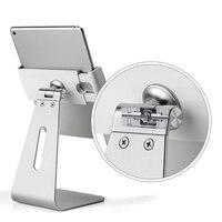 Stylish Elegant Desktop Mount Aluminum Stand Holder For 7 13 Inch Tablet PCs