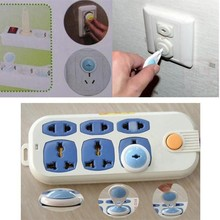 Gates Doorways Safety Mother Kids Electrical Safety 6 1 PC lot 2 Plug Baby Child Infant