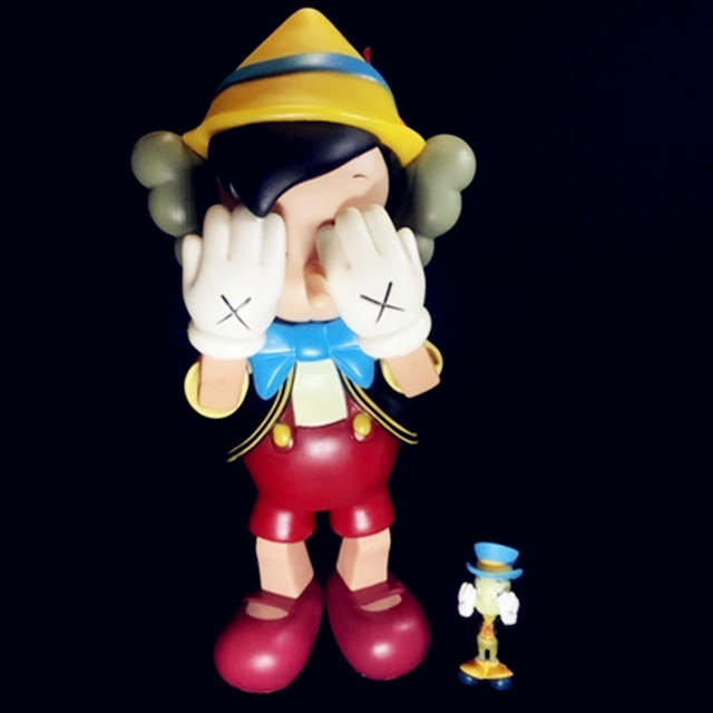 c0a235c2 Detail Feedback Questions about KAWS Pinocchio Companion Jiminy Cricket Box  Set New Medicom S159 on Aliexpress.com | alibaba group