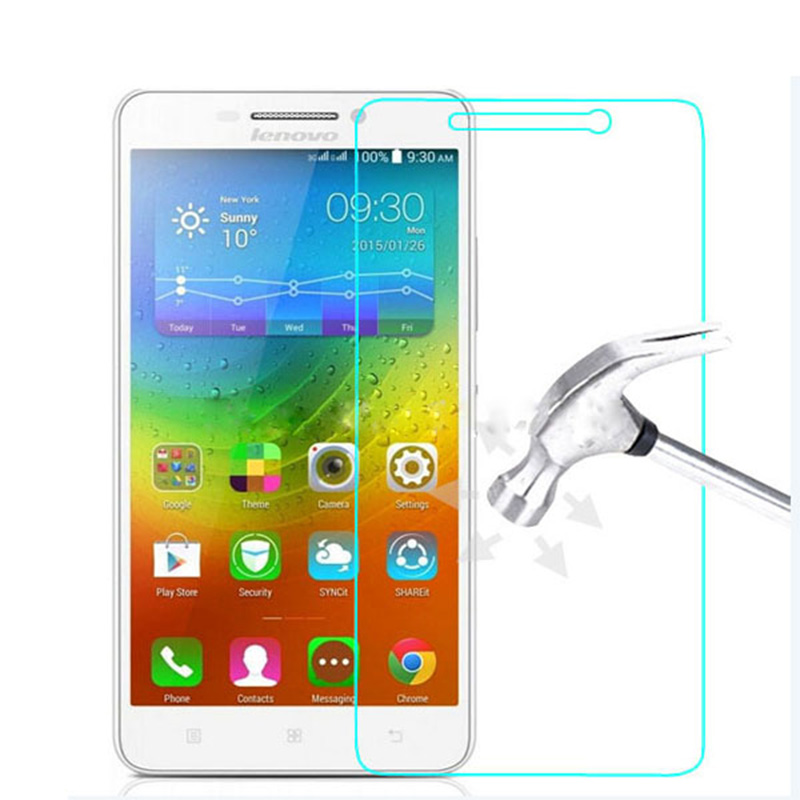 100% Original 9H 0.26mm High Clear Explosion-proof Front LCD Tempered Glass For Lenovo A5000 A 5000 Screen Protector Film