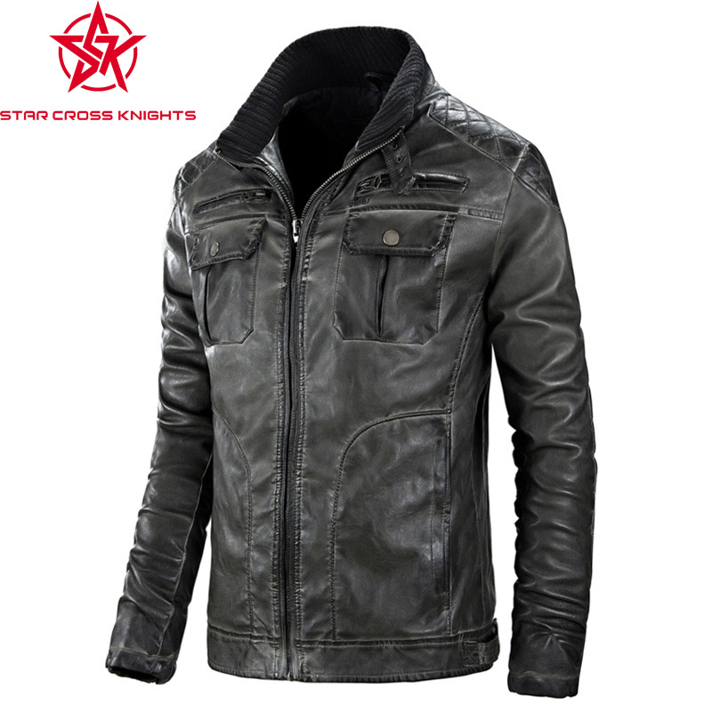 Aliexpress.com : Buy 2016 NEW HOT Mens Pu Jacket Big Size ...