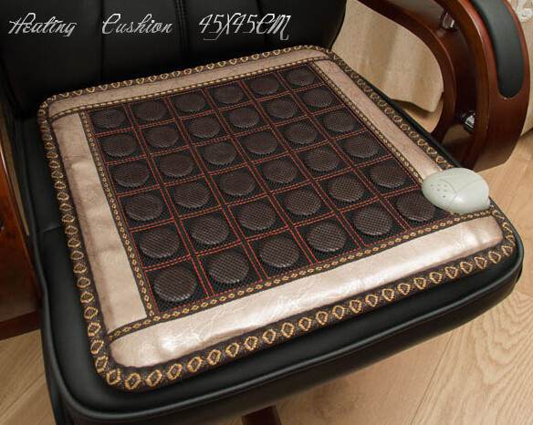 Free shipping Jade cushion germanium cushion heated seat cushion jade nice bottom pad health care 45*45CM цены онлайн