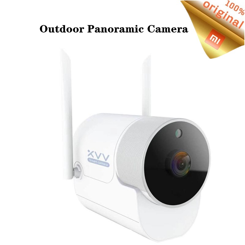 Xiaomi Xiaovv Outdoor Panoramic Camera 1080P Wireless Surveillance Camera WIFI High definition Night Vision With Mijia