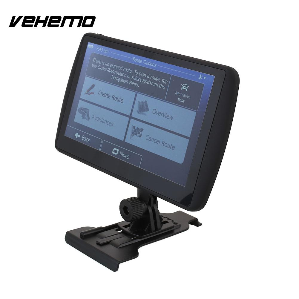 Vehemo Car 7 Inch 4G High Definition HD GPS Navigator MP3 With Map Support TF Card