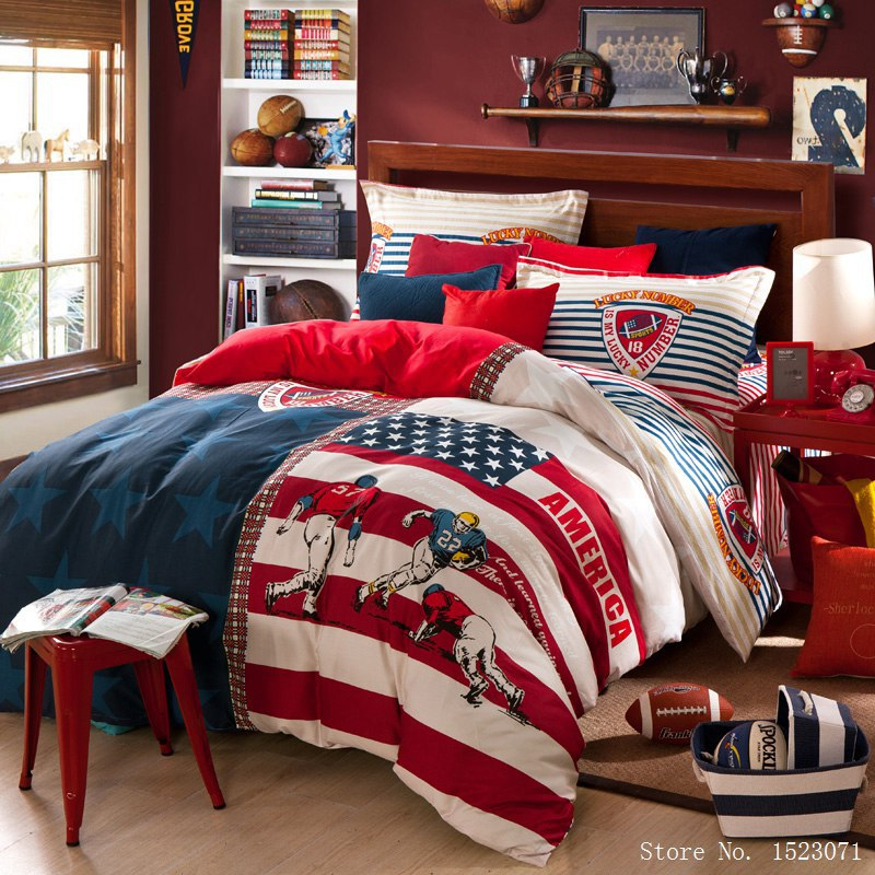 Aamerican England Flag Bedding Set 100 Cotton Rugby
