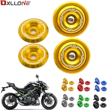 For Kawasaki Z900 2017 2018 Motorcycle Accessories CNC Aluminum Frame Hole Cap Cover With Screws 5M Fairing Guard