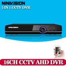 NINIVISION CCTV DVR AHD 16 Channel Super 1080P DVR Security Protection System 1080P HDMI Output DVR/NVR/HVR Recorder