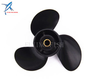 2 Stroke 4 Stroke 8 5 X 9 Pitch 12 Spine Outboard Engine Aluminum Propeller For