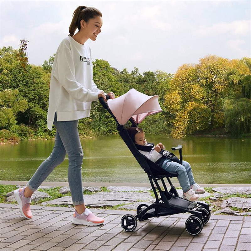 Luxury Foldable Baby Stroller KidsTravel bebek arabasi easy poussette kinderwagen baby car travelling pram pushchair все цены