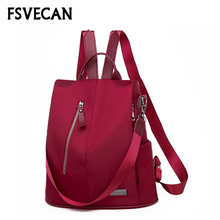 Large Capacity Anti-theft Backpack Women Female Bags Teenager School Travel Bag Laptop Oxford Bagpack Plecak Mochila Feminina