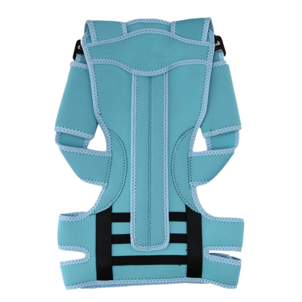 Back Posture Brace Corrector Shoulder Support Band Orthopaedic Posture Correct Belt Adjustable Unisex Health for Student Kids