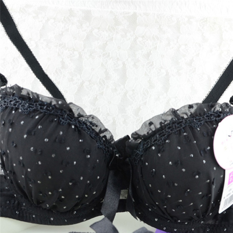 Women Push Up Bra Bowknot Lace Bras Lingerie Underwear Underwired Brassiere 32 34 36 Cup B
