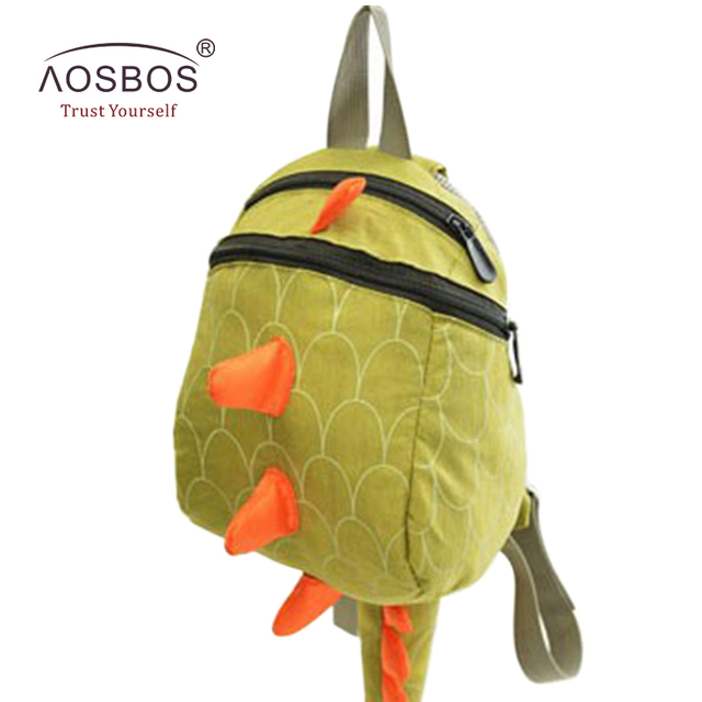 c99f78dd1d98 Children Dinosaur Washed Fabrics Backpacks Boys Waterproof Shoulder Bags  Girls 3D Cartoon Zipper Book Bag for