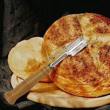 Arc Curved Bread Knife European Split Dough Western-Style Baguette Cutter Cutting French Toast Bagel Tool