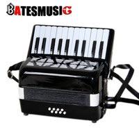 Профессиональный аккордеон 8 bass22 ключ 8 педик орган стандарт музыкальные инструменты Черный