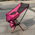 Portable Folding Outdoor Camping Stool Chair Seat for Fishing Festival Picnic BBQ Beach with Bag Black