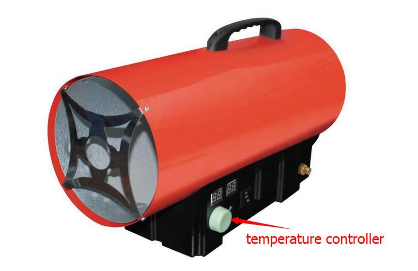 15kw lpg gas industry heater, gas portable thermal heater with temperature controller, heater with  Thermostat  for green house