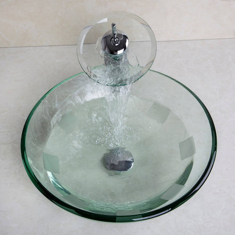 Glass Sink Bathroom Online Get Cheap Modern Glass Sinks Aliexpresscom Alibaba Group