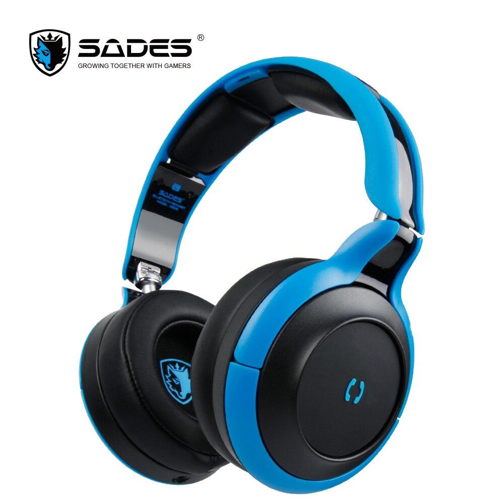 SADES D806 Bluetooth 4.1 Fones De Ouvido Fone De Ouvido Fone de Ouvido Sem Fio fone de Ouvido Estéreo Dobrável Portátil para iOS Android e Windows