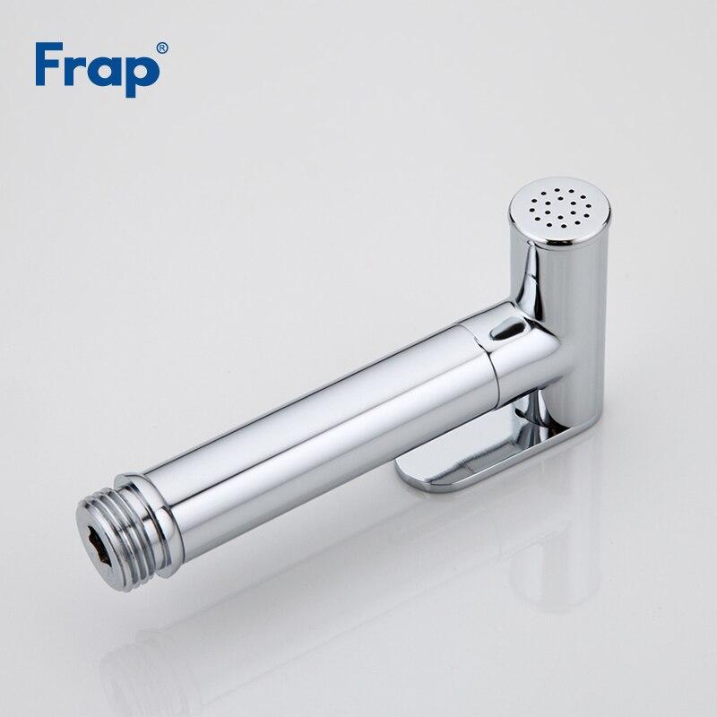 FRAP Bidets laiton bidet toilette eau froide et chaude mélangeur main pulvérisateur chrome salle de bains bidet robinet douche mousseline douche - 5