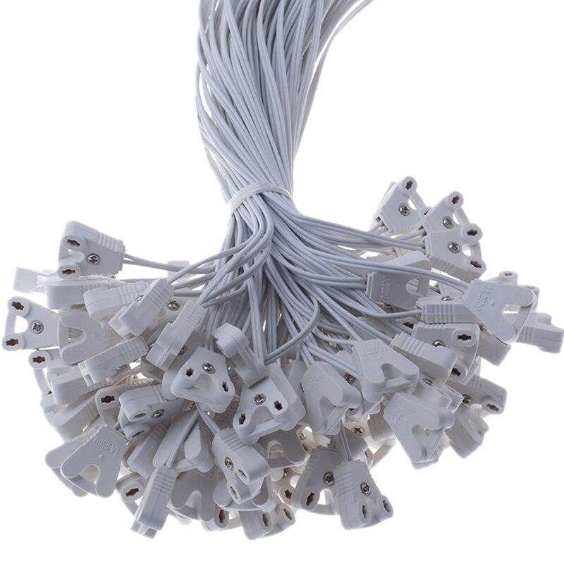 все цены на 4 pcs/lot T8 Lamp Holder T8 Light Box Line Lamps Socket Cable Holder Lights Base Wire For T8 Fluorescent Tube онлайн