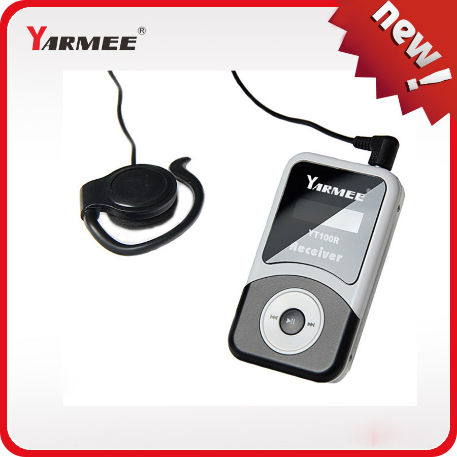 10 Receivers + 2 microphones Yarmee YT100 Wireless Tour Guide System Audio Guide jojo 2 teachers guide audio cd
