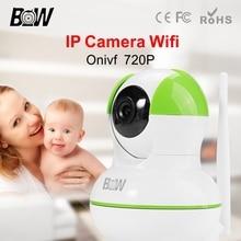 BW HD 720P IP Camera Wireless Wifi Security Surveillance CCTV Endoscope Concealed Pan 120'Tilt 355'IR Cut Filter Megapixel Lens