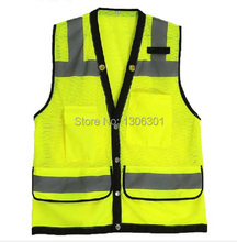 High high quality chinese language site visitors reflective security vest ,security waistcoat ,sanitation reflective clothes,working vest