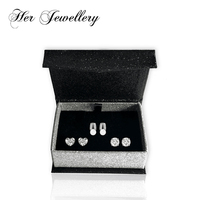 Her Jewellery earrings set women decorative jewellery Made with crystals from Swarovski HS129