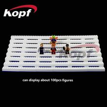 Super Heroes Display Box Case with Size 38.5*19.5*8cm About 100Pcs Figures Exhibition Bricks Building Blocks Children Gift Toys