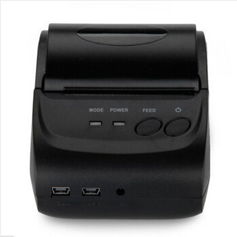 10pcs Android IOS bluetooth USB serial port Thermal Receipt Printer mini Thermal Printer 58MM POS Printer DHL freeshipping mini bluetooth thermal printer 80mm receipt ticket printer pos printer machine for thermal printer android ios
