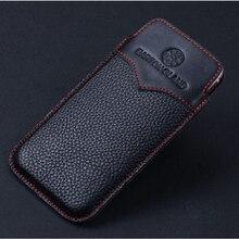 Wobiloo корова натуральная кожа телефон чехол для Apple iPhone7 чехол iPhone 7 4.7 «Роскошные ручной работы рукавом Обложка сумка для iphone 7 Plus