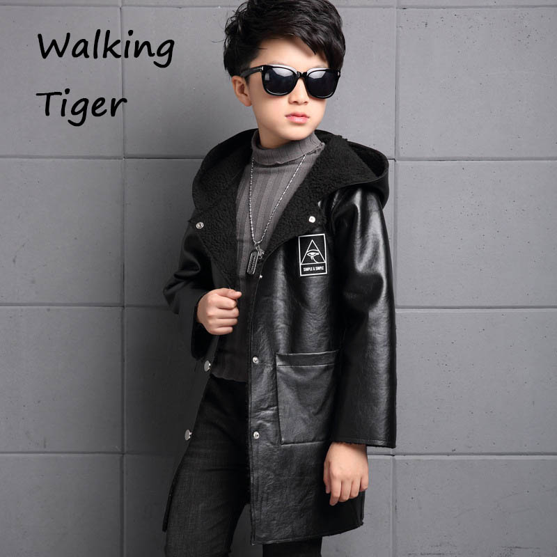 Boys lamb wool jacket coats winter boy coat children fashion outerwear kids clothes boutique clothing children winter coats jacket baby boys warm outerwear thickening outdoors kids snow proof coat parkas cotton padded clothes