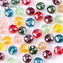 4 6 8 mm Czech Facet Rondelle Glass Beads Jewelry Making DIY Crystal Spacer Beads for Bracelets Mix Loose Bead Wholesale Z301