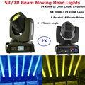 Sharpy Lyre Beam 230 Вт 7R луч движущийся головной свет 5R 200 Вт Луч света Профессиональное Освещение Dj оборудование Рождественский проектор Эффект