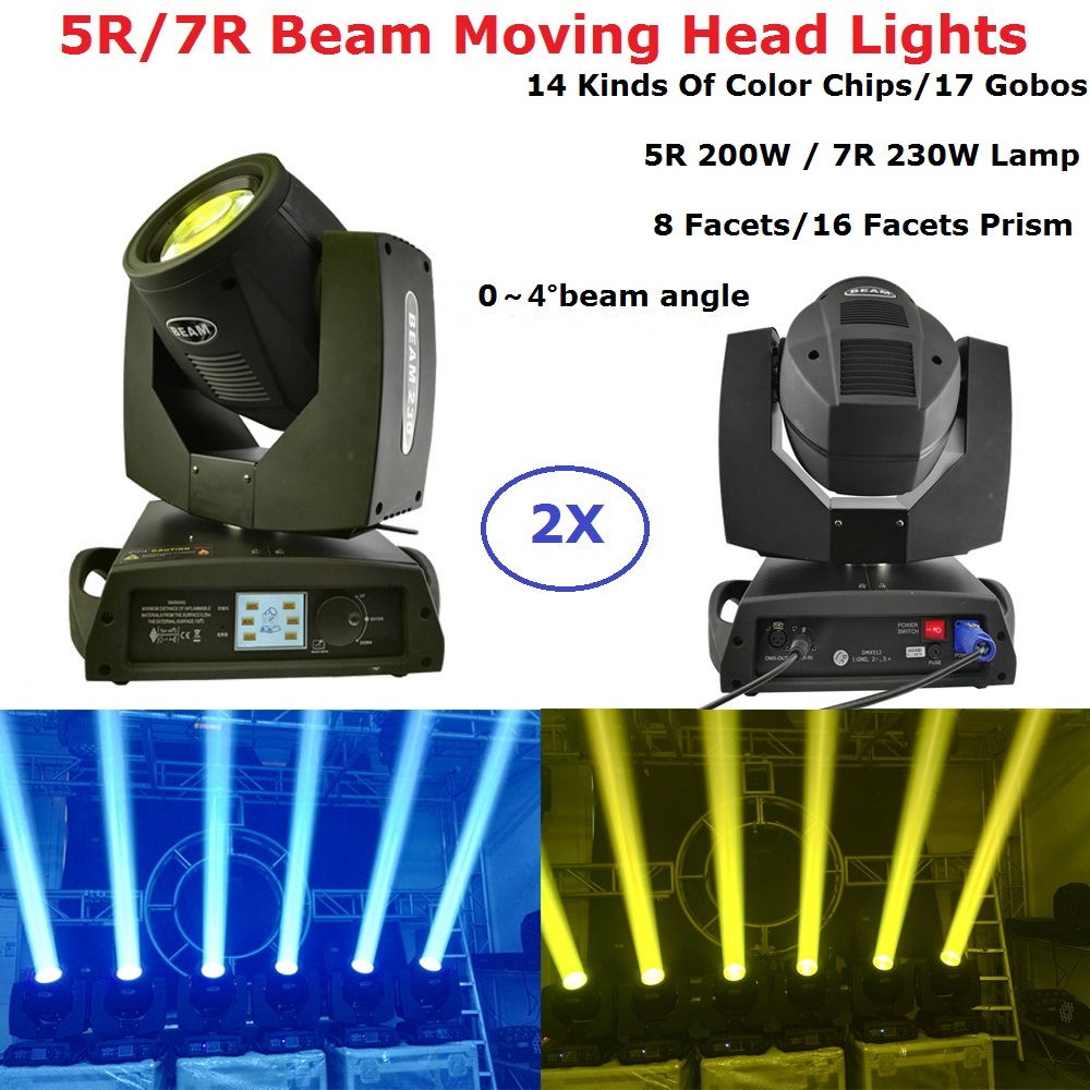 Sharpy Lyre Beam 230W 7R Beam Moving Head Light 5R 200W Beam Light Professional Lighting Dj Equipment Christmas Projector Effect