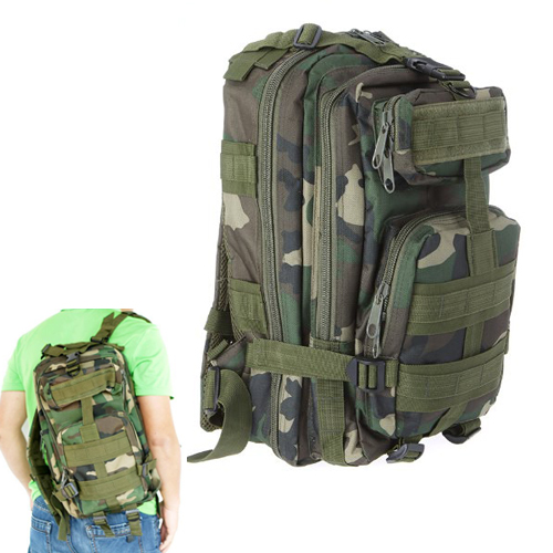 30L Outdoor Sport Military Tactical Backpack Rucksacks Camping Hiking Trekking Bag Jungle camouflage outlife new style professional military tactical multifunction shovel outdoor camping survival folding spade tool equipment