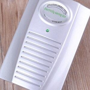 Image 2 - Intelligent Energy Saver socket 90V 240V New Type Power Electricity Saving Box ahorrador de corriente EU/UK Plug drop shipping